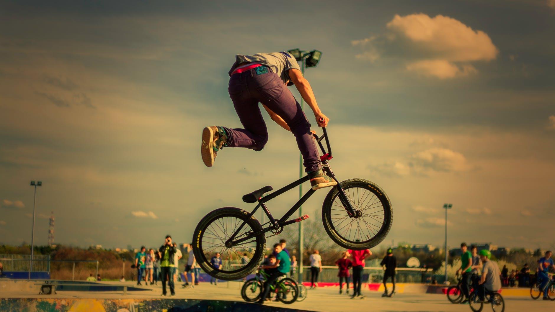 bicycle bike biker cyclist