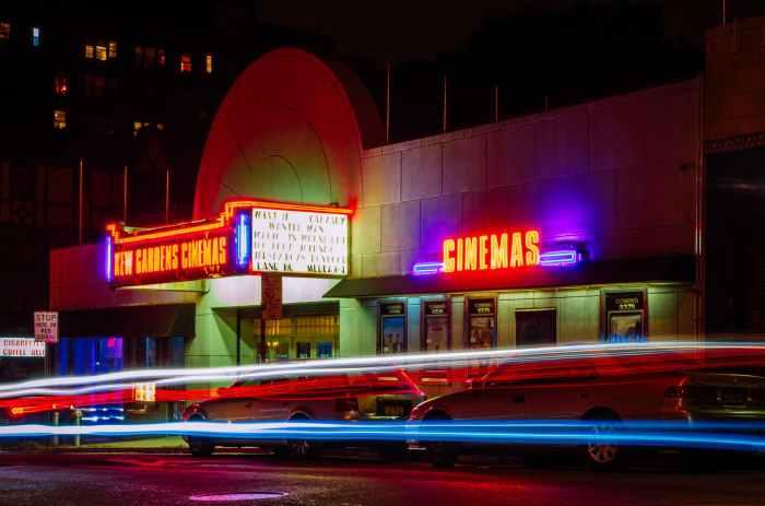 architecture building business cinema