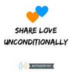 Share love unconditionally